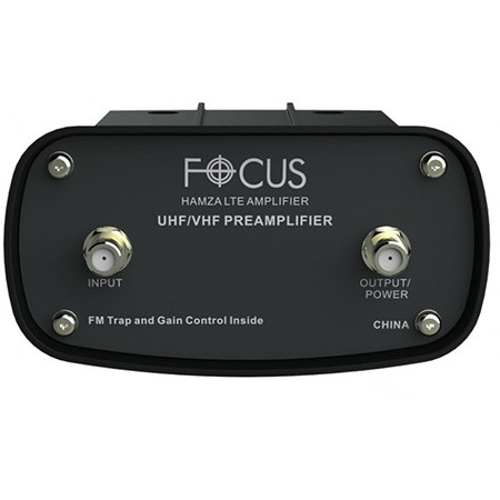 Focus HDTV Preamplifier improves weak tv signal